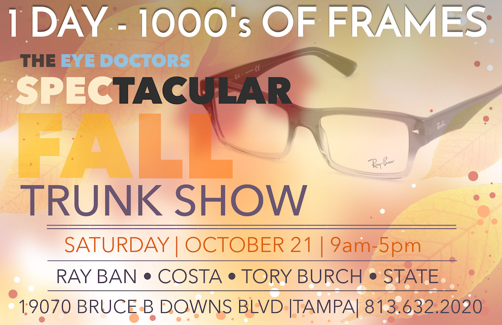 True Eye Experts Spectacular Fall Trunk Show
